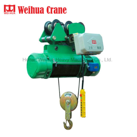 Weihua 3 Phase Wire Rope Mini Electric Hoist 3 Ton pictures & photos