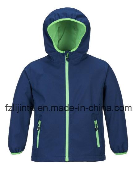 Children Clothing Unisex Winter Kids Wear Softshell Jacket