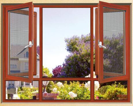 Top Quality Aluminium Casement Fly Screen with Stainless Steel Mesh  (ACW-036)