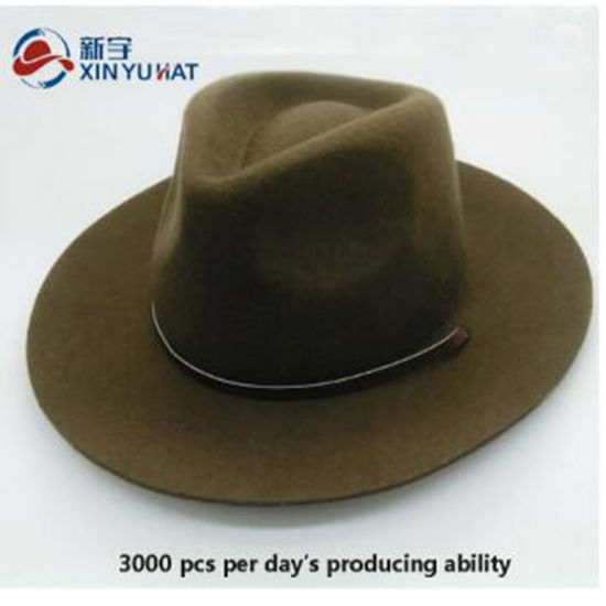 e8f68d8e China Fine Western Looking Wool Felt Cowboy Hat 100% Wool Felt ...