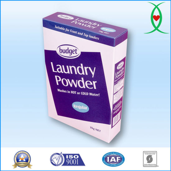 China Triple Action Laundry Detergent Powder for Top and