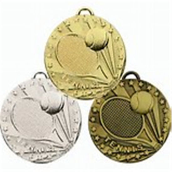 Metal Craft Stamping Tennis Gold Medal pictures & photos