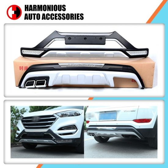 Front And Rear Bumper Guard For Hyundai Tucson 2016