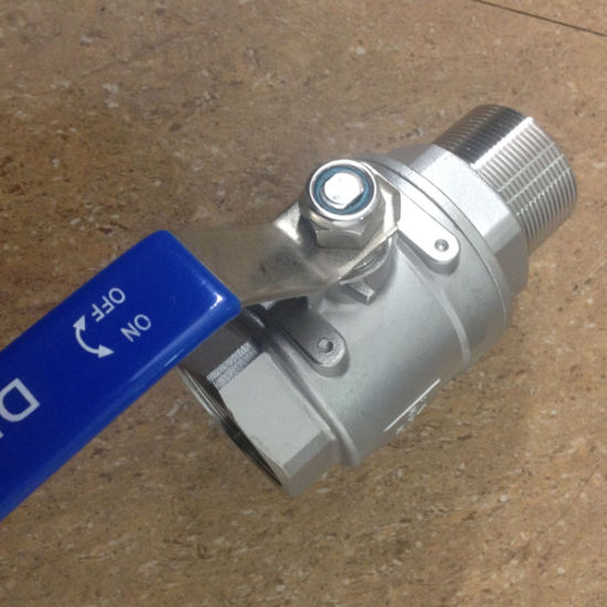 1000wog Female&Male Full Bore 2PC Ball Valve pictures & photos