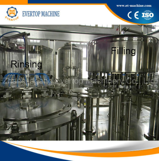 Automatic Bottled Pure Water Filling Machine pictures & photos