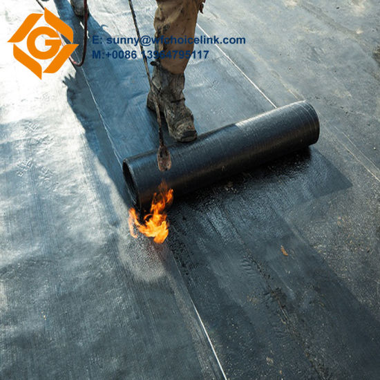 China Sbs Torch On Bitumen Waterproof Roofing Sheet