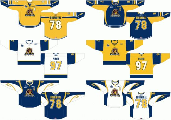 China Customized Quebec Major Jr Hockey League Shawinigan Cataractes