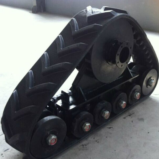 Rubber Track System (NHL-504-400) for Big Tractor Machine pictures & photos