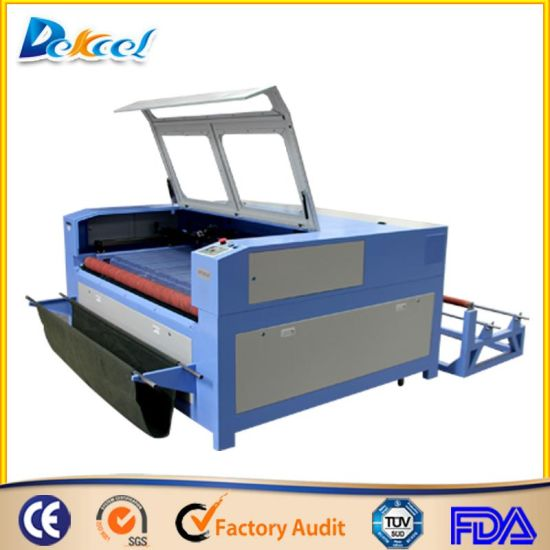 Auto Feeding Garments/Cloth/Leather/Fabric/Textile Laser Cutting Machine pictures & photos