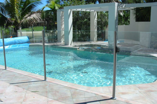 China Tempered Glass Outdoor Pool Fence Panels With Asnzs2208 1996