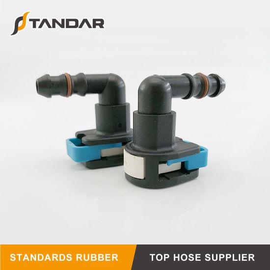 90 Degree Fuel Line Female Pipe Quick Connectors for Auto Parts