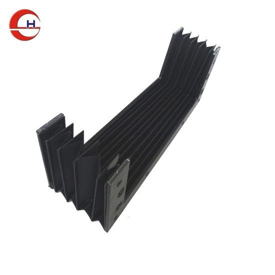 China Flexible Fold Guard Guide Rail Shield Bellows Cover - China