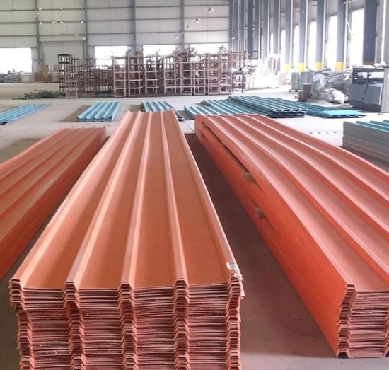 Transparent Fiberglass Roofing Sheets FRP Roof Sheet for Houses