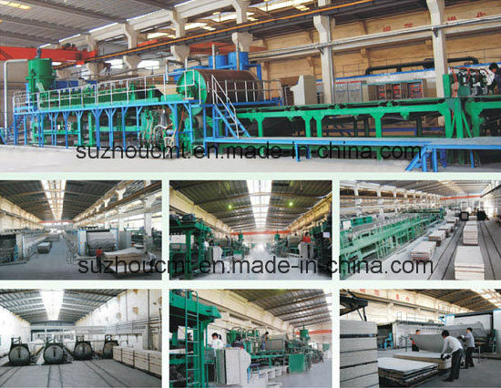 2016 Calcium Silicate Board Making Production Line pictures & photos