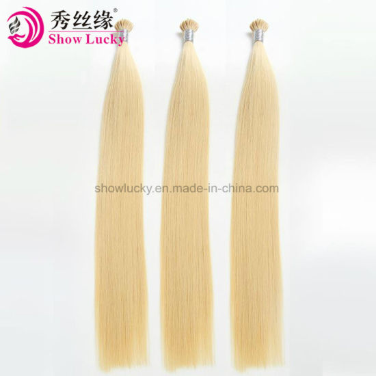 Wholesale Price Supply Keratin Pre-Bonded Virgin Remy Brazilian Human Hair Stick I Tip Hair Accessories
