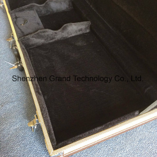 Grand Guitar Case / Electric Guitar Rectangle Tweed Hardcase (GC-R) pictures & photos
