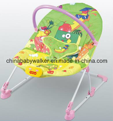 Newest Design Folding Baby Cradle Swing with Music