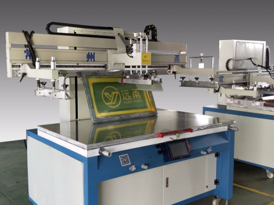High Precision Electric Semi-Auto Screen Printing Press for Windscreen pictures & photos