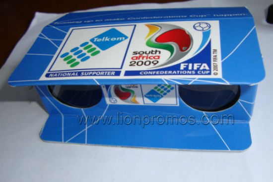 Custom Printing World Cup Football Game Promotional Gift Paper Binocular Telescope pictures & photos