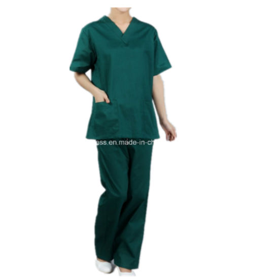 Reusable Polyester Cotton Suits Scrubs Nursing Uniforms Set