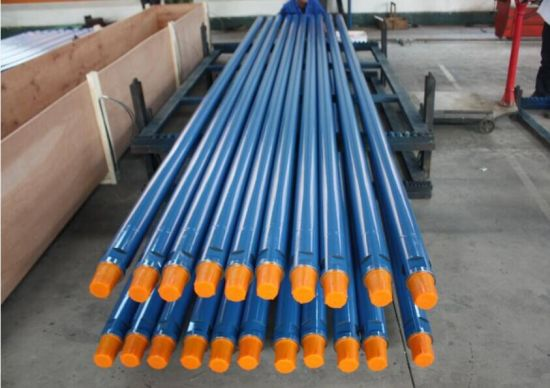 Friction Welded DTH Drill Pipe Rods for Drilling pictures & photos