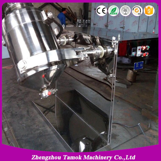 Syh Series Pharmaceutical Powder Granule 3D Mixer in Stainless Steel pictures & photos