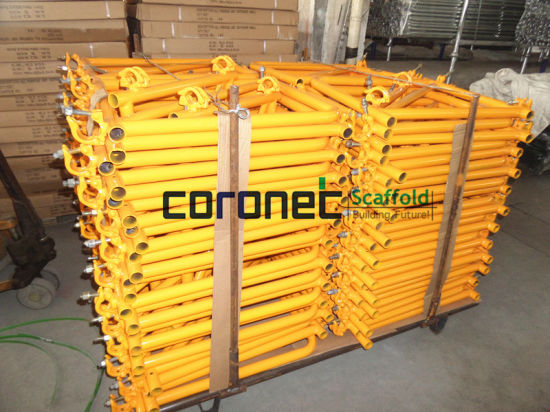 ANSI Building Material Construction High Quality Powder Coated Outrigger Frame System Scaffold (CSOR30) pictures & photos