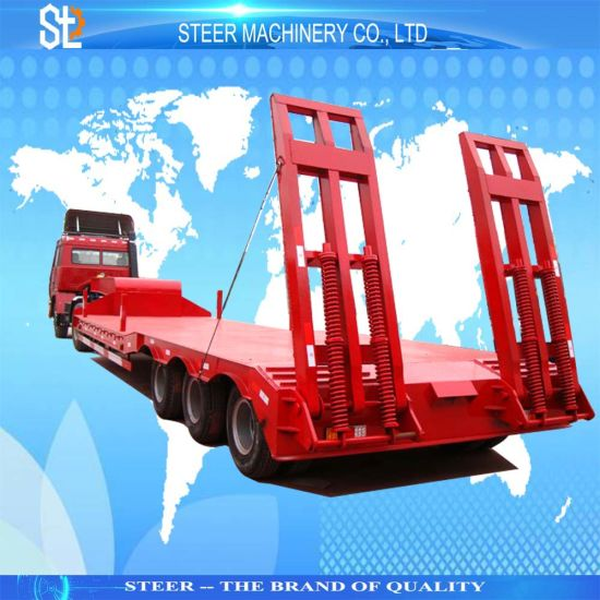 Machinery Transport Use Truck Trailer Heavy Duty Trailer Special Vehicle