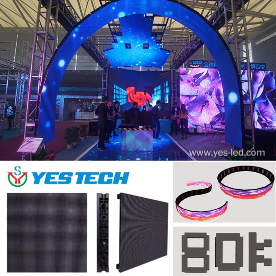 China Full Color Indoor/Outdoor Rental Stage Background LED Display