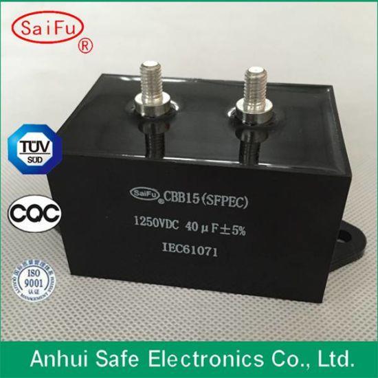 High Quality Cbb15 500VAC 6UF Metallized Film Capacitor