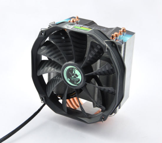 Intel and AMD Socket CPU Cooler with 4PCS 8mm Heatpipes