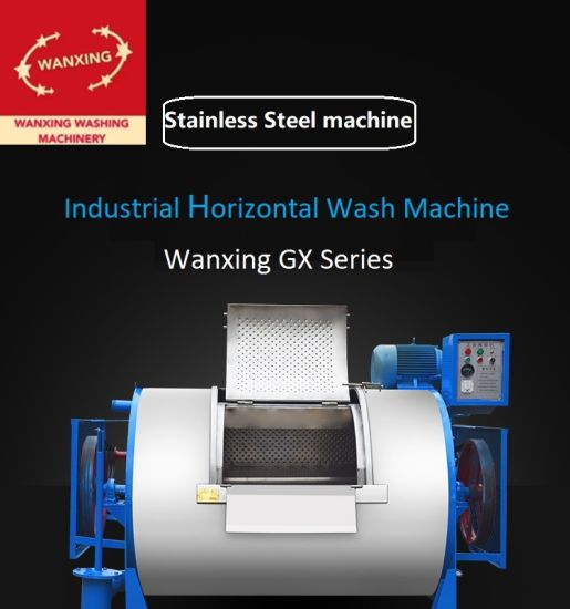 Industrial/Commercial Roller Stainless Steel Horizontal (belly type) Washer for Hotel/ Hospital/ Laundry Shop