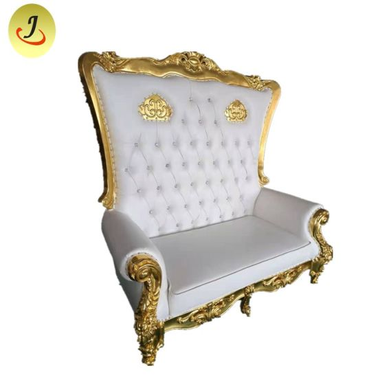 Terrific Luxury Royal High Back Loveseat Queen King Throne Wedding Chair Dailytribune Chair Design For Home Dailytribuneorg