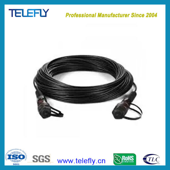 50m Simplex LC-LC Ftta/Rru/Armoured Pdlc Outdoor Waterproof Cable Assembly Fiber Optic/Optical Patch Cord pictures & photos