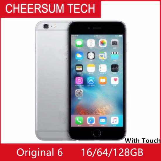 "Original Refurbished 6 Mobile Phone 4.7"" 1GB RAM 16/64/128GB ROM Ios 8 with Touch ID"