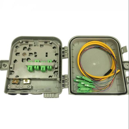 Waterproof Fiber Optic Module 8 Port Splitter Distribution Box 1X4 1X8 Core Outdoor Fiber Optical FTTH Terminal Junction Box