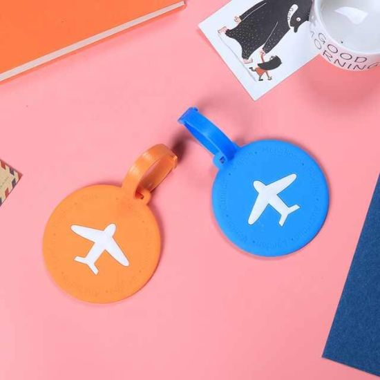 Silicone Suitcase Strap with Lock Travel Luggage Tag