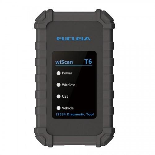 Eucleia Wiscan T6 J2534 Diagnostic Tool