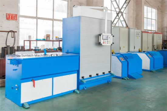 High Speed Copper Wire Drawing Machine with Annealing for Cable Extrusion Production