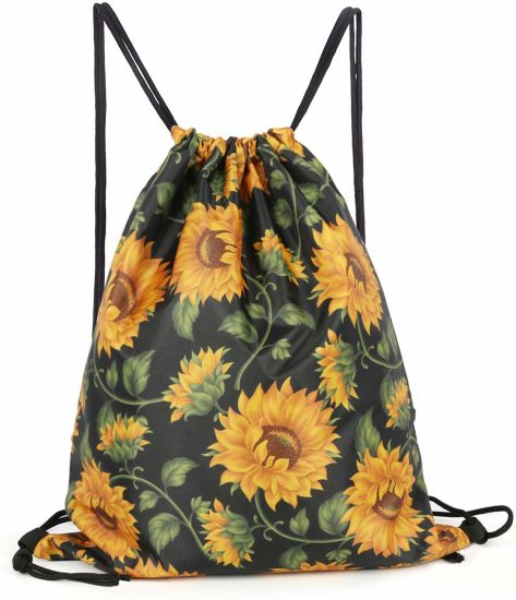 GymSack Drawstring Bag Sackpack Colorful Galaxy Stars Sport Cinch Pack Simple Bundle Pocke Backpack For Men Women
