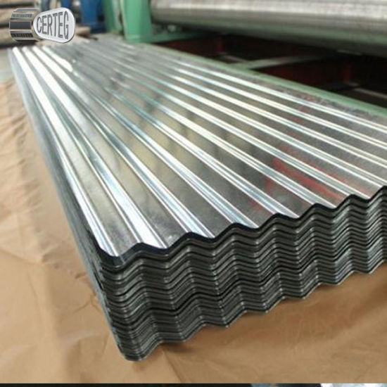 Az60 Galvalume Corrugated Metal Sheet for Roof