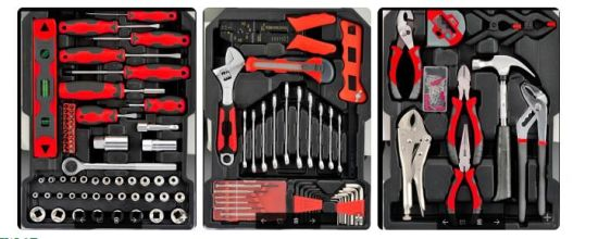 Customized Combination Tool Professional Household Hand Tools Multifunction Tools Combo Kit with Pump Pliers