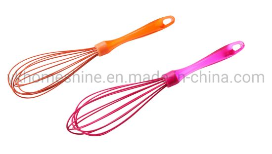 Silicone Egg Whisk for Blending Mixing