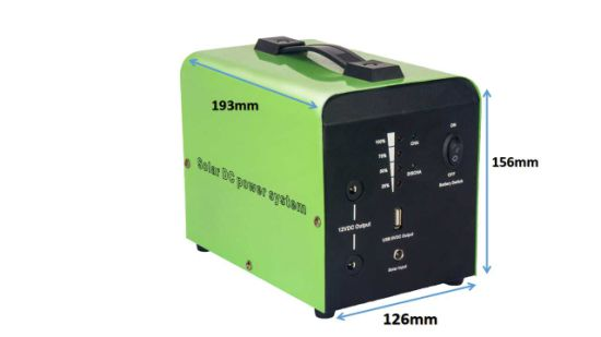12V 20W Small Solar DC Power System with Built-in 12ah Battery