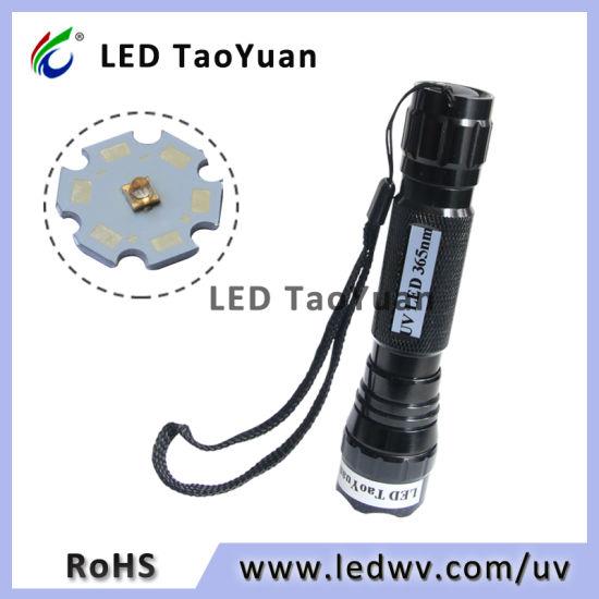 UV Inspection for Testing Laser Pointer