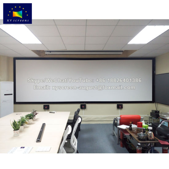China 200 Inch 2.35: 1 Perm-Fixed Frame Projector Screens - China ...