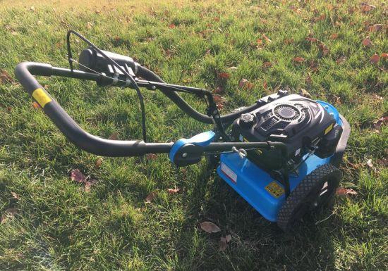 Self-Propelled Petrol 20inch Cheap Lawn Mower Adjustment Industrial Lawn Mowers