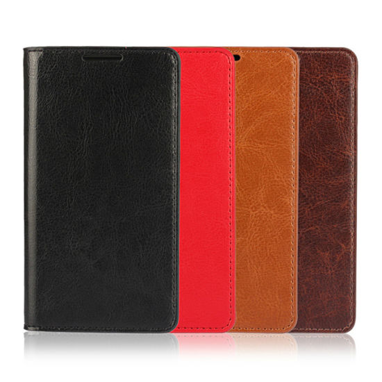 PU Leather Case Cover Wallet Stand for Sony Z5mini