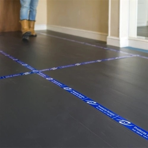 Wholesale Cheap Protective 2mm 3mm 4mm Black White Polypropylene Fluted Plastic Sheet Floor Protection