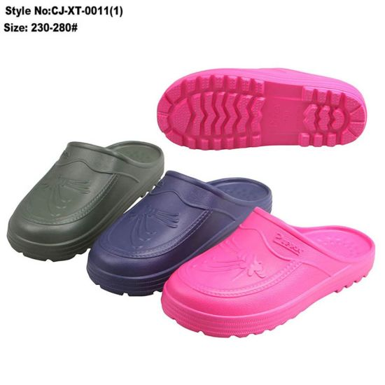 EVA Close Toe Slipper, Fashion Style One Injection Woman Slipper pictures & photos